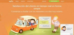 ZOPIM Chat para servicio al cliente online