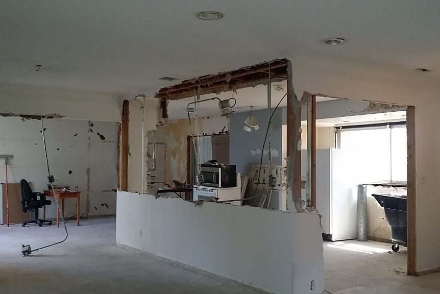 Kitchen Remodel Coral Springs wall