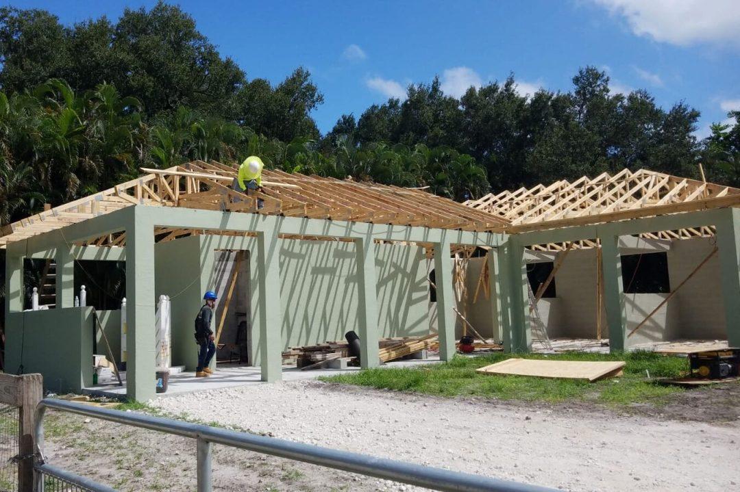 New Construction Barn