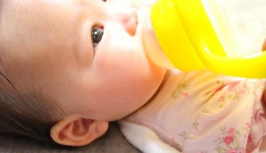赤ちゃんの夏の水分補給!量はどのくらいあげるの?