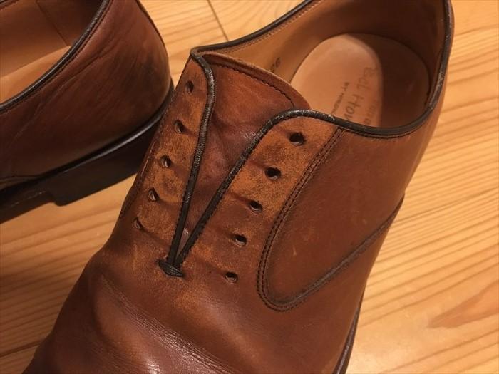 31革靴のダメージ2
