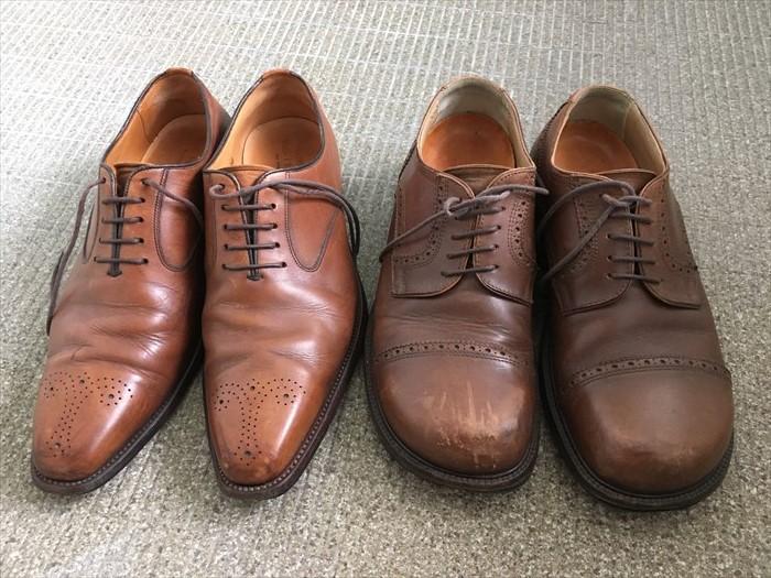 1洗う革靴