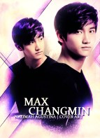 MAX changmin tvxq dbsk cover art purple by nazimah agustina