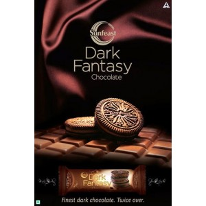 Review : Sunfeast Dark Fantasy chocolate biscuit..