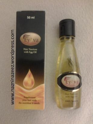 Review: EYOVA Hair nutrient with Egg oil!