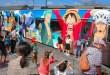 """Kereta """"One Piece"""" Hadir di Kumamoto Bantu Pulihkan Kawasan Bencana Gempa"""