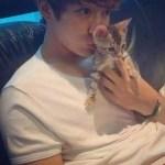 猫の日!愛猫にメロメロ!ネコ好きの韓国俳優、アイドル愛猫とのショット公開!!