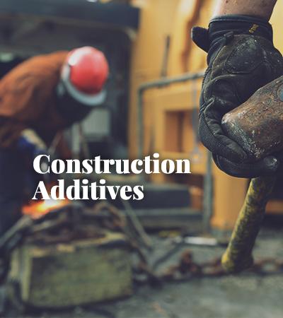 Construction Additives - NB Entrepreneurs