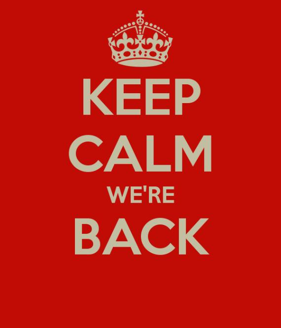 NB vender tilbage i den digitale verden - Keep Calm We are Back