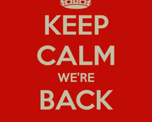 NB vender tilbage i den digitale verden - Keep Calm We are Back