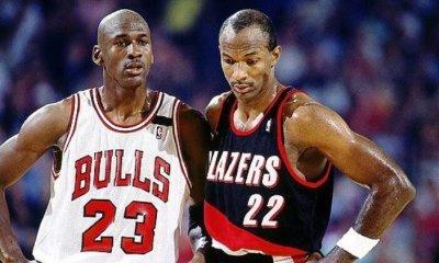 Clyde Drexler - Michael Jordan