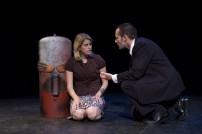 "Marissa Robinson and Scott Shannon in ""Futures"" 2007 Mainstage by Len Falkenstein (photo: Alberto White)"