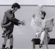 "Seann Alexander Murray and Rebecca Tremblay in ""Clover"" 2004 Street Theatre by Stephanie Yorke (photo: Siobhan Wiggans)"
