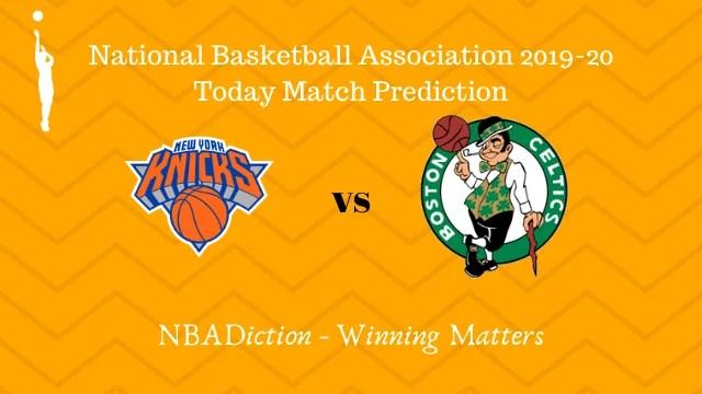 knicks vs celtics 27102019 - Knicks vs Celtics NBA Today Match Prediction - 26th Oct 2019