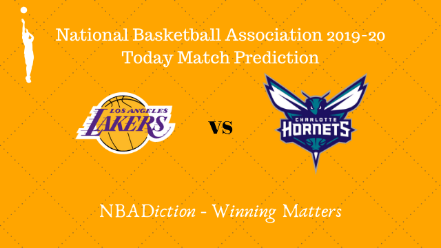 lakers vs hornets 28102019 - Lakers vs Hornets NBA Today Match Prediction - 28th Oct 2019