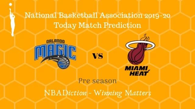 magic vs heat preseason - Magic vs Heat NBA Today Match Prediction - 17th Oct 2019