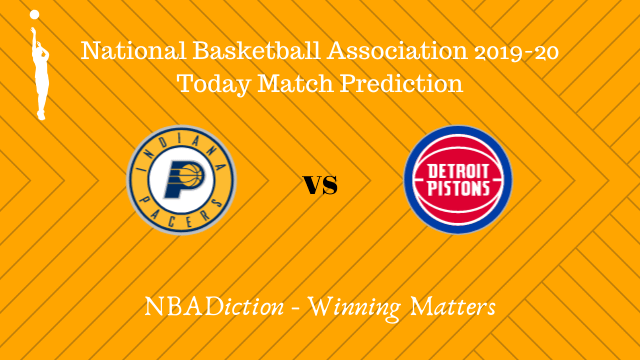 pacers vs pistons 24102019 - Pacers vs Pistons NBA Today Match Prediction - 23rd Oct 2019