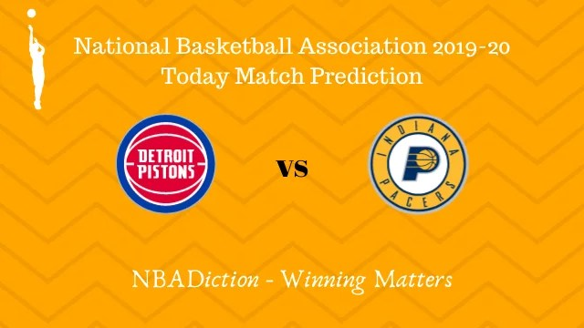 pistons vs pacers 29102019 - Pistons vs Pacers NBA Today Match Prediction - 28th Oct 2019