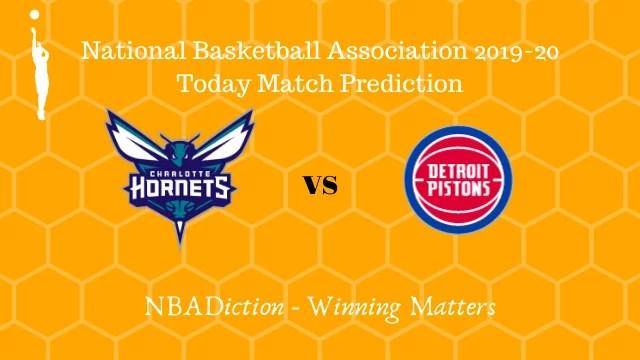 hornets vs pistons 16112019 - Hornets vs Pistons NBA Today Match Prediction - 16th Nov 2019