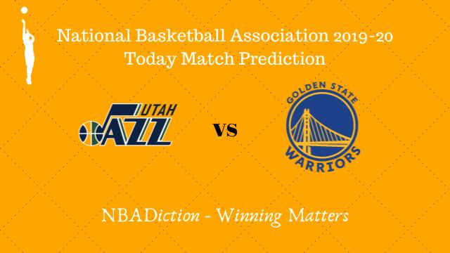 jazz vs warriors 23112019 prediction - Jazz vs Warriors NBA Today Match Prediction - 23rd Nov 2019