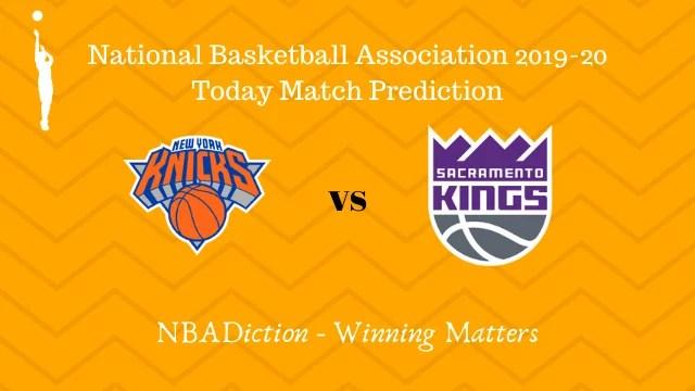 knicks vs kings 04112019 - Knicks vs Kings NBA Today Match Prediction - 3rd Nov 2019
