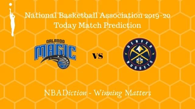 magic vs nuggets 03112019 - Magic vs Nuggets NBA Today Match Prediction - 2nd Nov 2019
