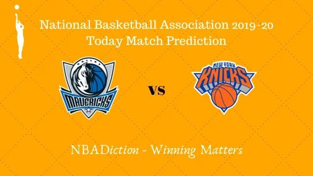 mavericks vs knicks 09112019 - Mavericks vs Knicks NBA Today Match Prediction - 9th Nov 2019