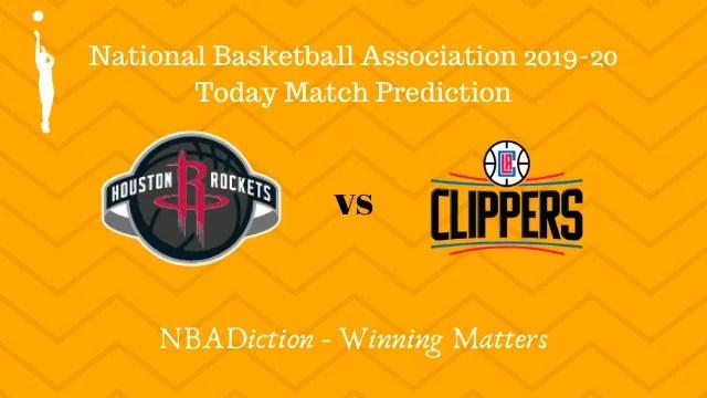 rockets vs clippers 14112019 - Rockets vs Clippers NBA Today Match Prediction - 14th Nov 2019