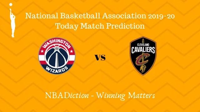 wizards vs cavaliers 09112019 - Wizards vs Cavaliers NBA Today Match Prediction - 9th Nov 2019