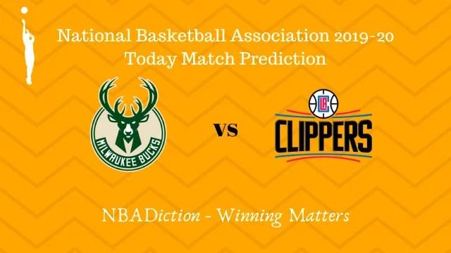 bucks vs clippers prediction 07122019 - Bucks vs Clippers NBA Today Match Prediction - 7th Dec 2019
