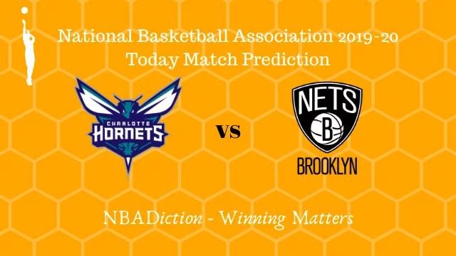 hornets vs nets prediction 07122019 - Hornets vs Nets NBA Today Match Prediction - 7th Dec 2019