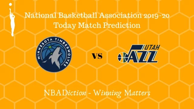 timberwolves vs jazz prediction 12122019 - Timberwolves vs Jazz NBA Today Match Prediction - 12th Dec 2019