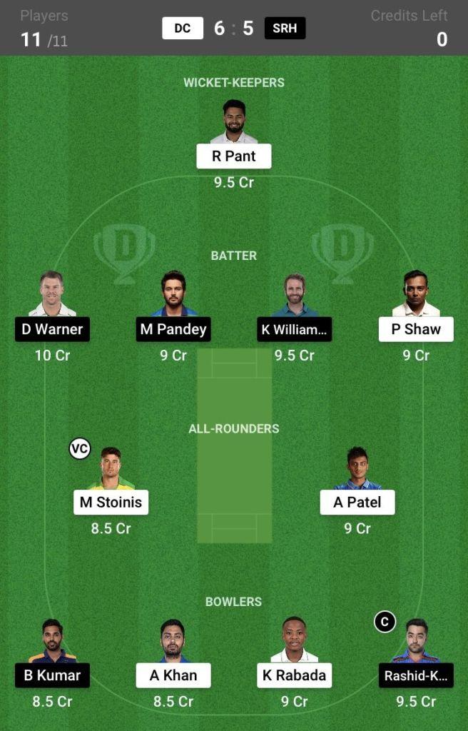 img 5611 656x1024 - DC vs SRH Today Match Dream11 Prediction, 33rd Match, IPL 2021