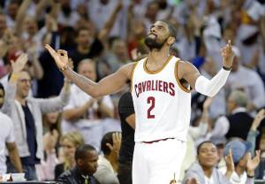 NBA Straya – NEVER FORGET: Kyrie Irving's first playoff game: April 2015