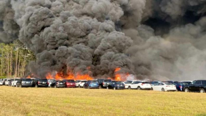 Rsw Rental Car Fire Deemed Accidental Results In 100 Million In Damage Nbc2 News