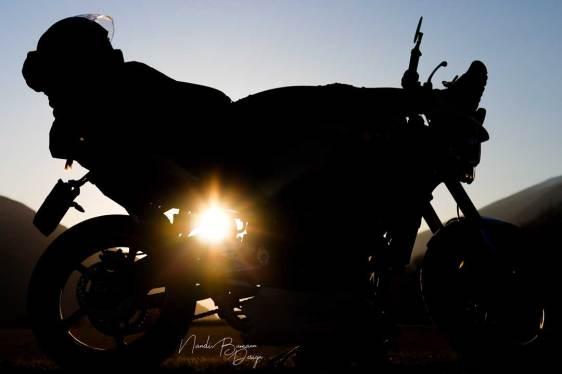 Motorrad Fotografie Wallis Nandi Bumann