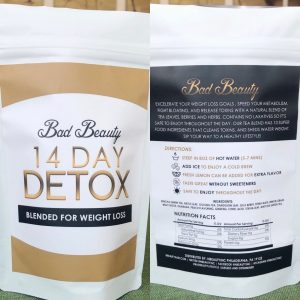 Bad Beauty 28 Day Detox Tea