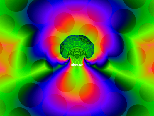 mushroom fractal psychedelic