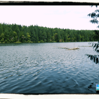 Enos Lake hike