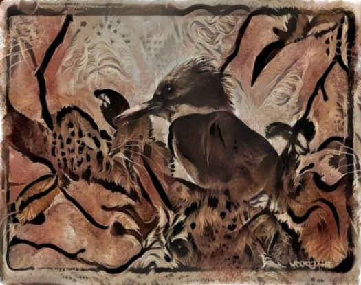 Birds in Deep Dream 3