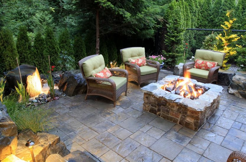 14 Landscaping Ideas for a Backyard Fire Pit on Garden Ideas With Fire Pit id=26647