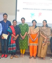 Inter-Class Debate Competition