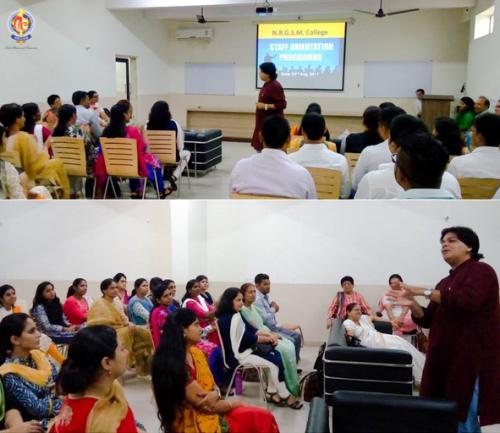 Mr. Sanjay Sharma presented his views on life management