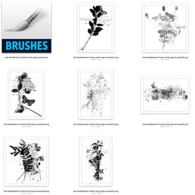 nbk-RoseBoheme-Flower-artGrunge-brushes-det