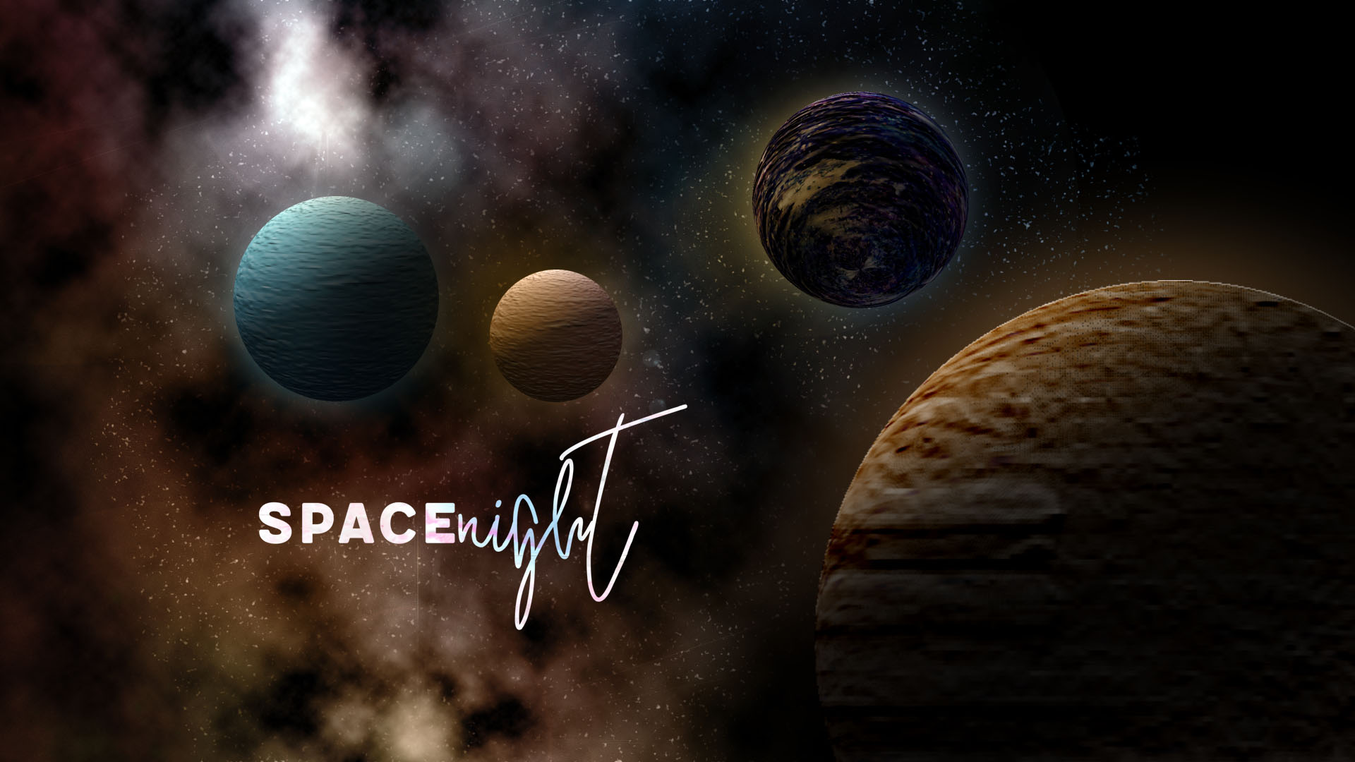 Create planets and a nice galaxy
