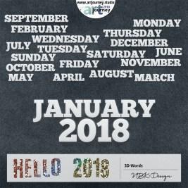 nbk-HELLO2018-3D-Words