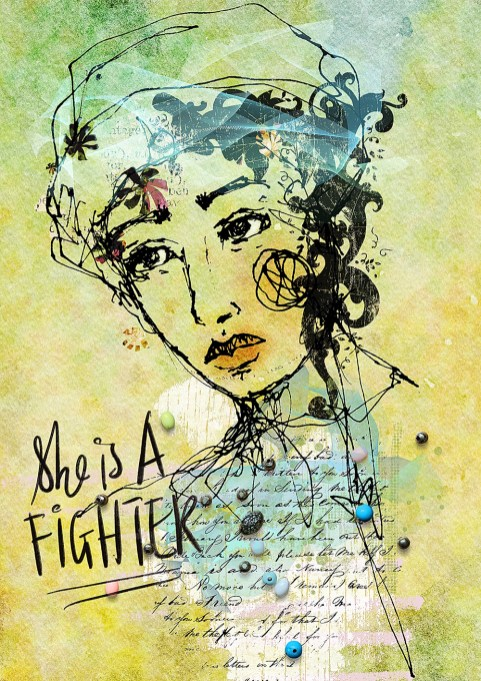 She is a fighter 1000 px