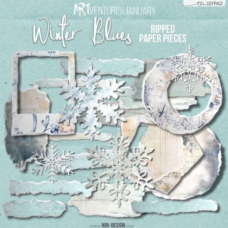 nbk-WINTERBLUES-Rippedpaperpieces