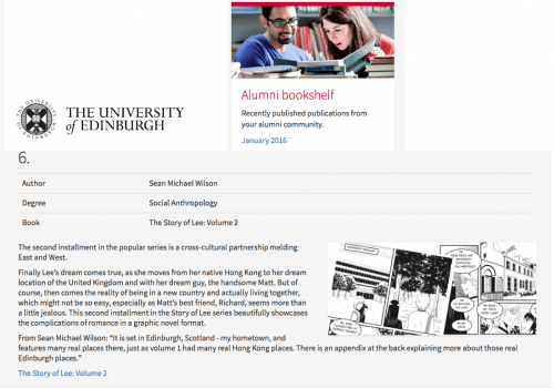 SOL 2 Edinburgh uni alumni newsletter jan 2016