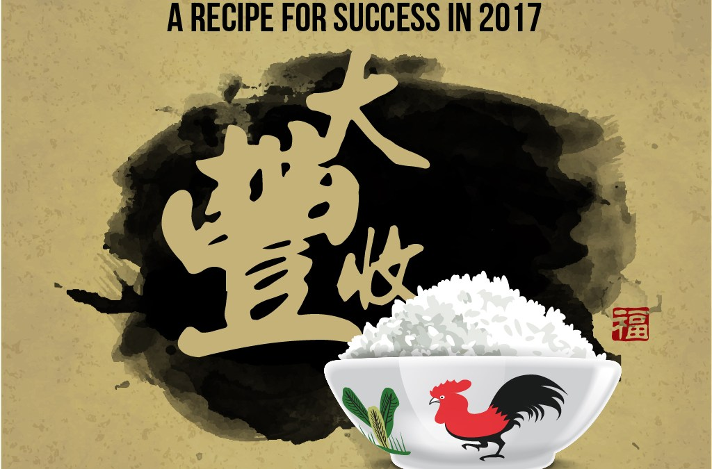 A Recipe for Success in 2017